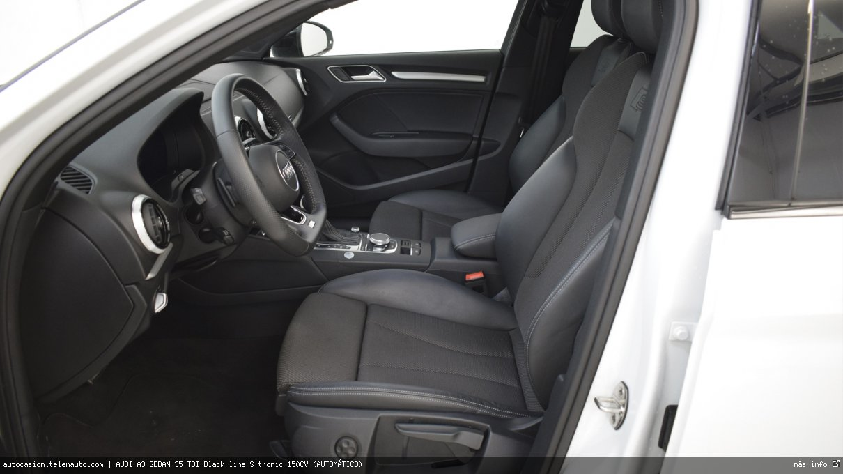 Audi A3 sedan 35 TDI Black line S tronic 150CV (AUTOMÁTICO) Diesel seminuevo de segunda mano 11