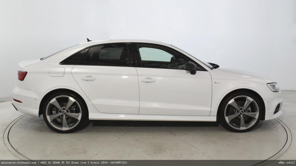 Audi A3 sedan 35 TDI Black line S tronic 150CV (AUTOMÁTICO) Diesel seminuevo de segunda mano 4