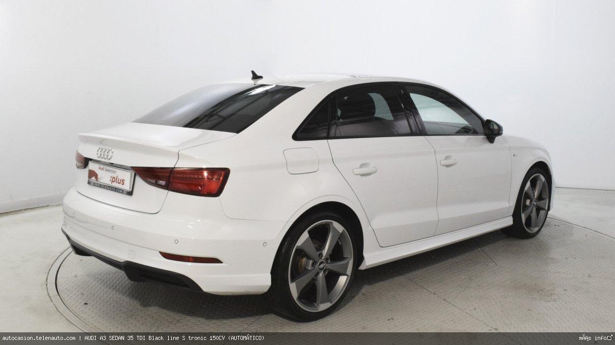 Audi A3 sedan 35 TDI Black line S tronic 150CV (AUTOMÁTICO) Diesel seminuevo de segunda mano 5