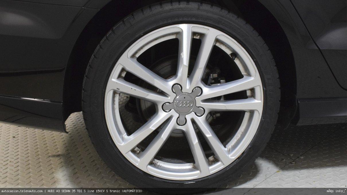 Audi A3 sedan 35 TDI S line 150CV S tronic (AUTOMÁTICO) Diesel kilometro 0 de ocasión 11
