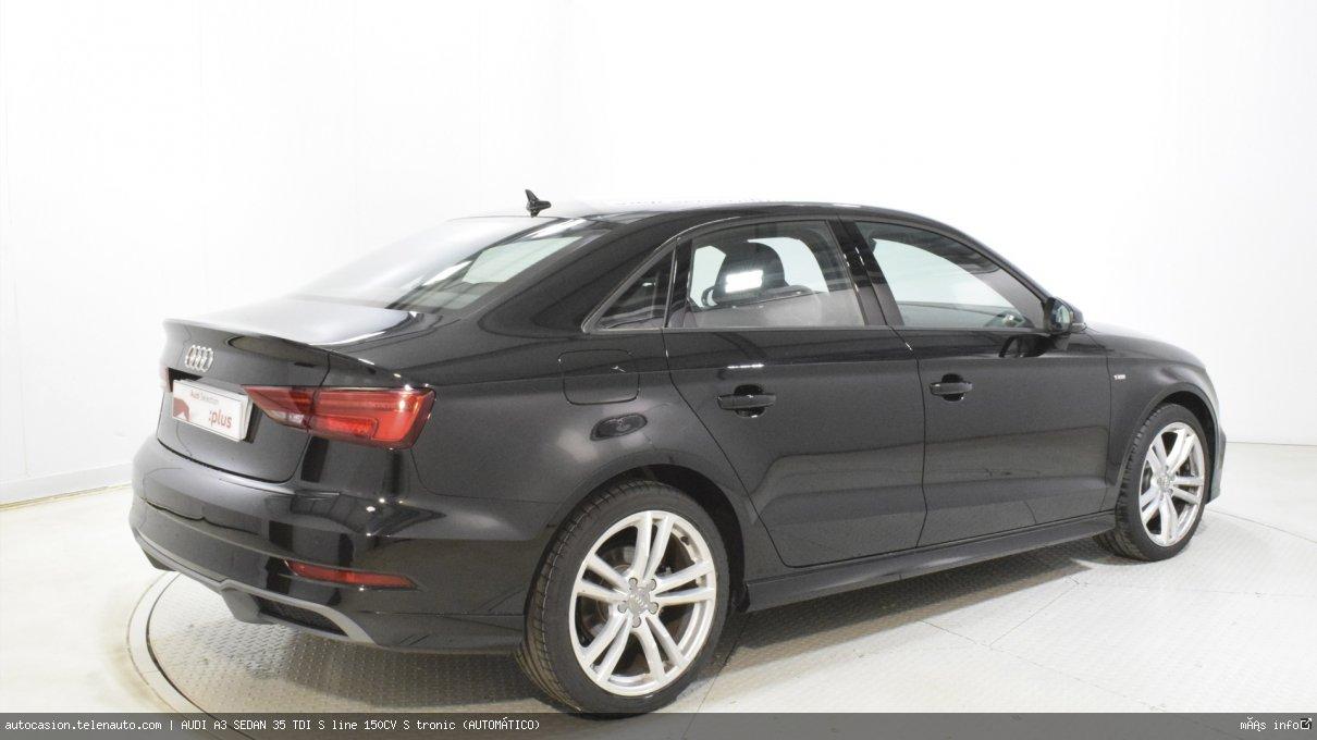 Audi A3 sedan 35 TDI S line 150CV S tronic (AUTOMÁTICO) Diesel kilometro 0 de ocasión 4