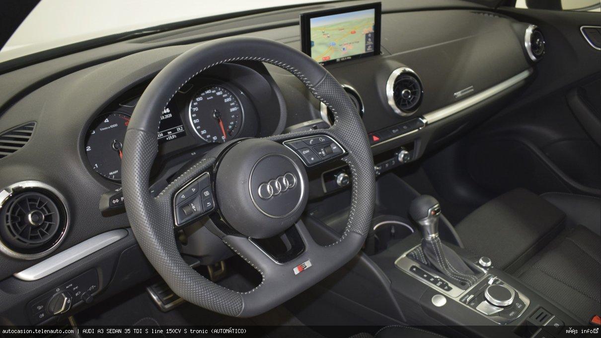 Audi A3 sedan 35 TDI S line 150CV S tronic (AUTOMÁTICO) Diesel kilometro 0 de ocasión 7