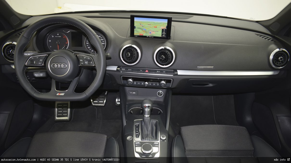 Audi A3 sedan 35 TDI S line 150CV S tronic (AUTOMÁTICO) Diesel kilometro 0 de ocasión 8