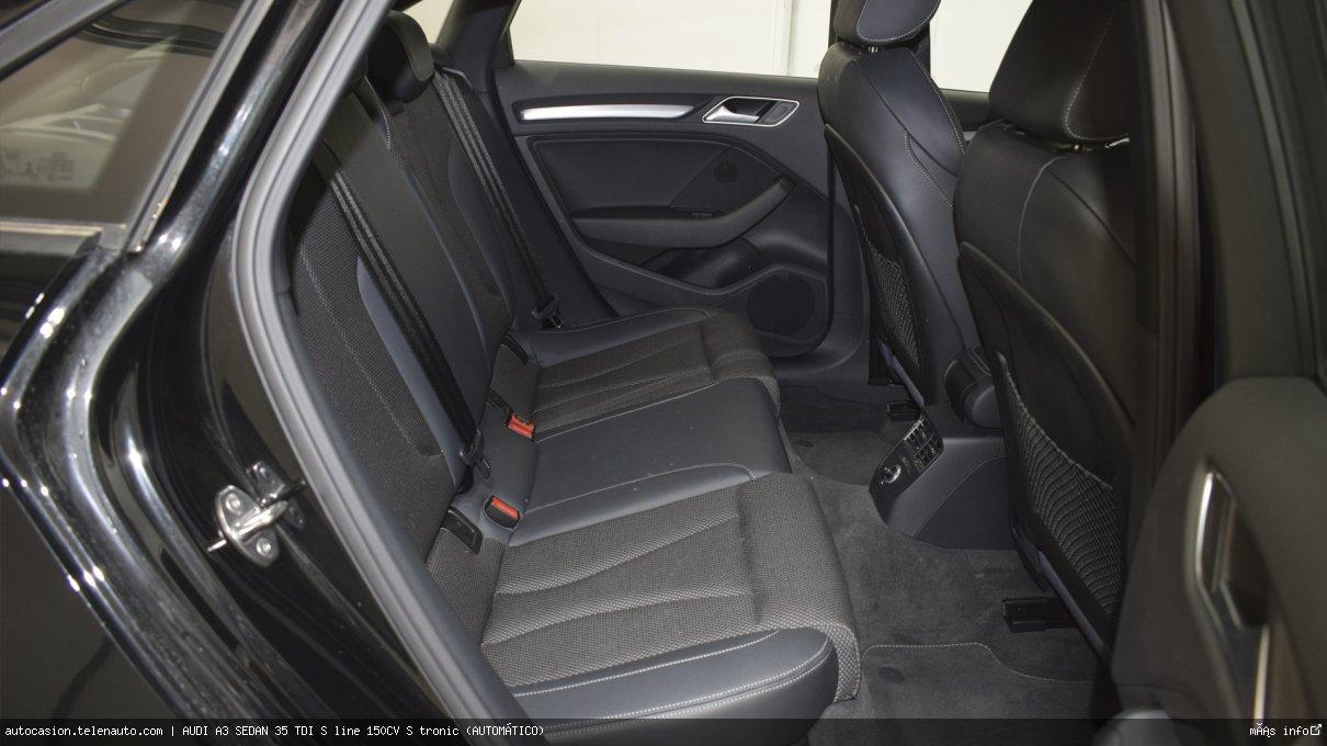 Audi A3 sedan 35 TDI S line 150CV S tronic (AUTOMÁTICO) Diesel kilometro 0 de ocasión 9