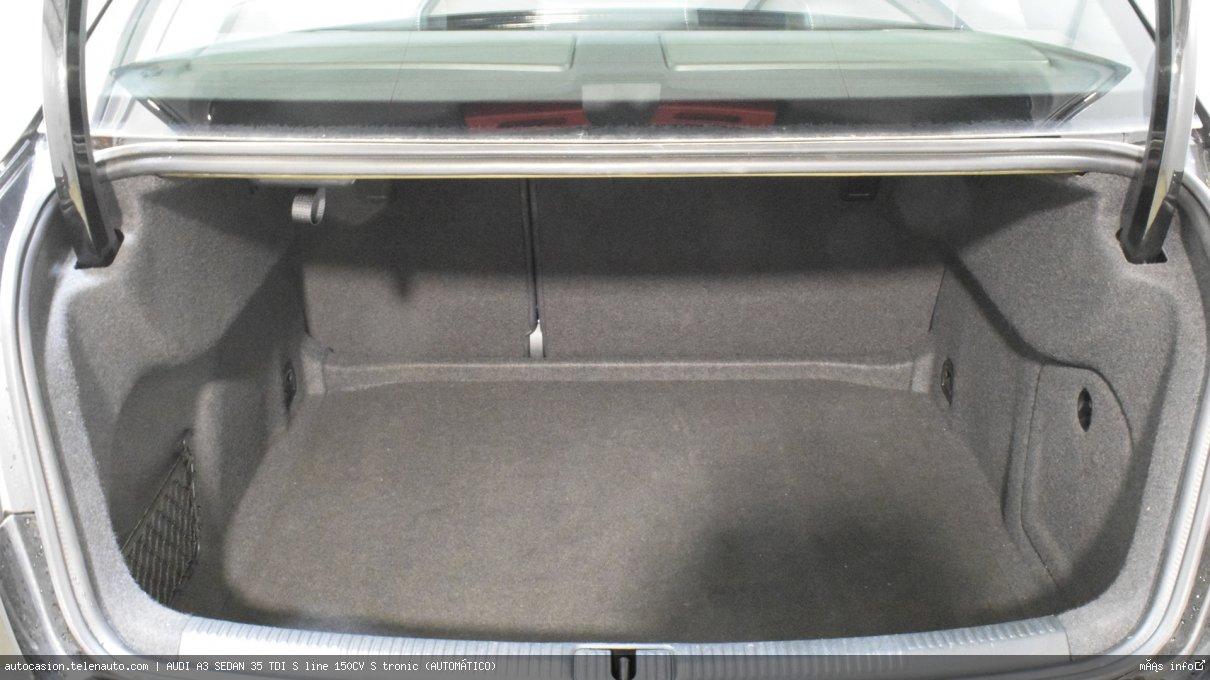 Audi A3 sedan 35 TDI S line 150CV S tronic (AUTOMÁTICO) Diesel kilometro 0 de ocasión 10