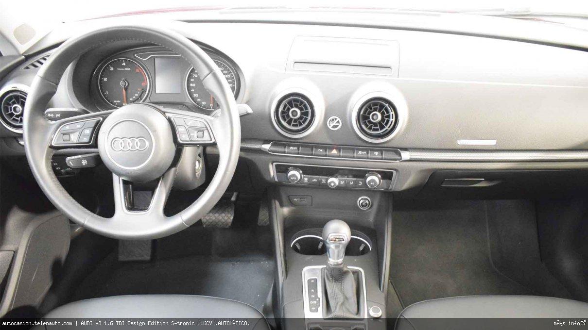 AUDI A3 SB 1.6 TDI Design Edition S-tronic 116CV (AUTOMÁTICO) - Foto 6