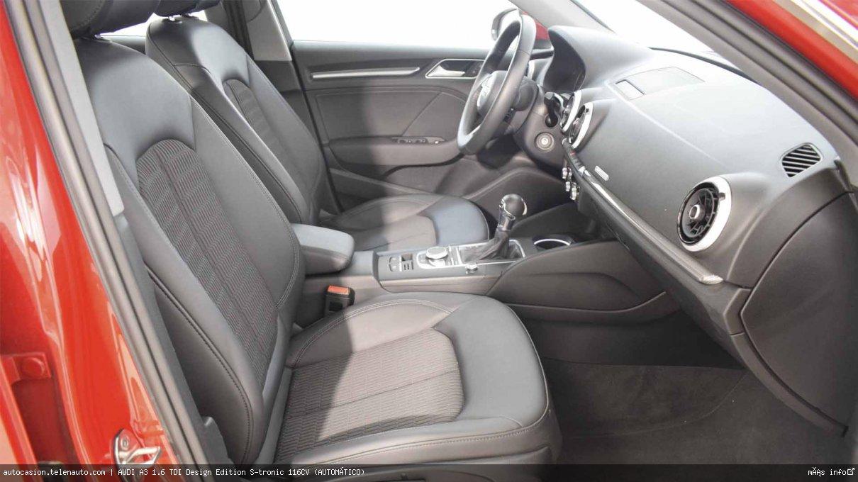 AUDI A3 SB 1.6 TDI Design Edition S-tronic 116CV (AUTOMÁTICO) - Foto 7