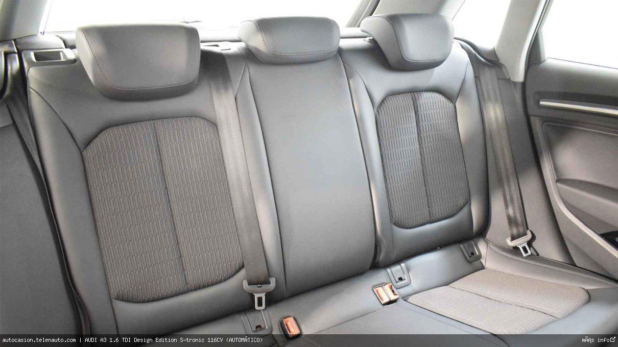 AUDI A3 SB 1.6 TDI Design Edition S-tronic 116CV (AUTOMÁTICO) - Foto 8
