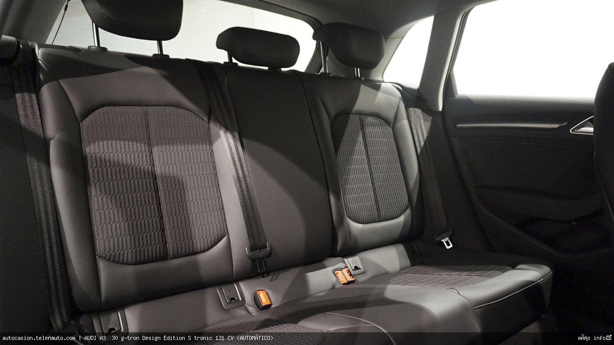 AUDI A3 SPORTBACK 30 g-tron Design Edition S tronic 131 CV (AUTOMÁTICO) - Foto 8