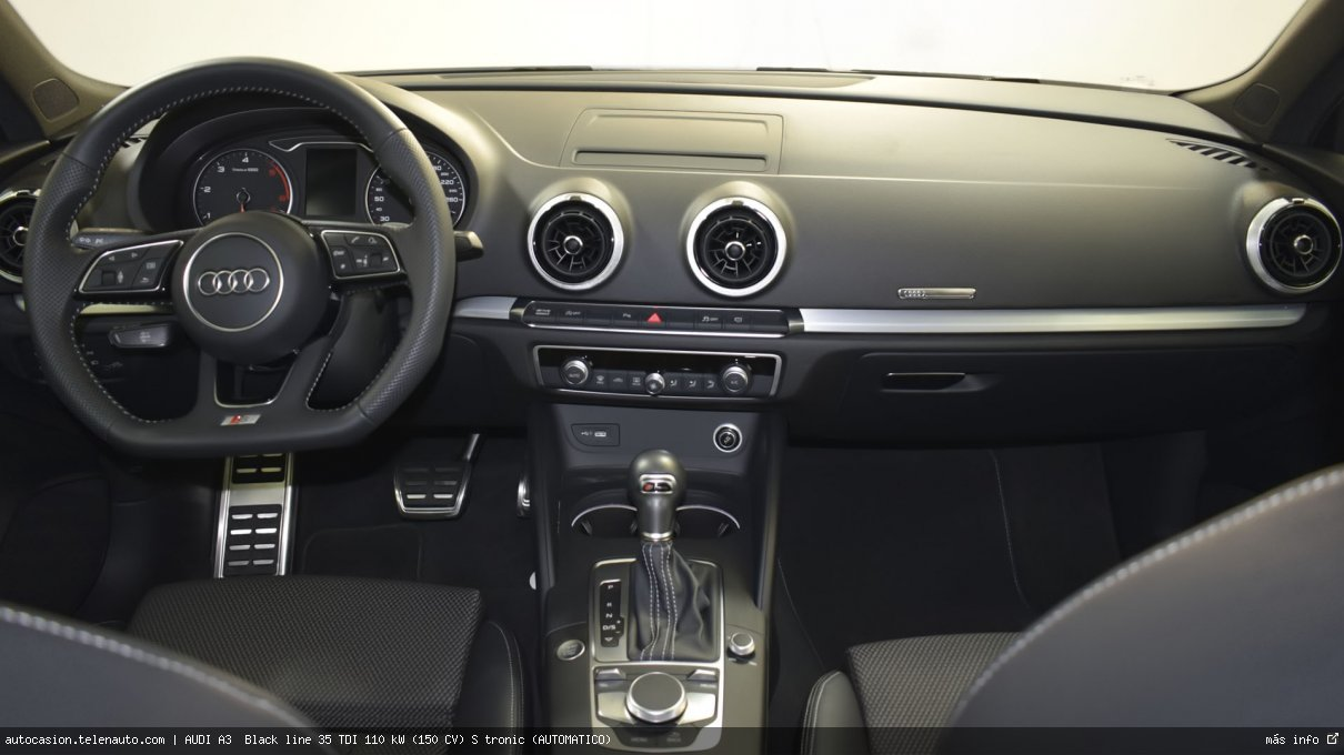 AUDI A3 1.5 TFSI Design Edition CoD EVO S Tronic 150CV (AUTOMÁTICO) - Foto 7
