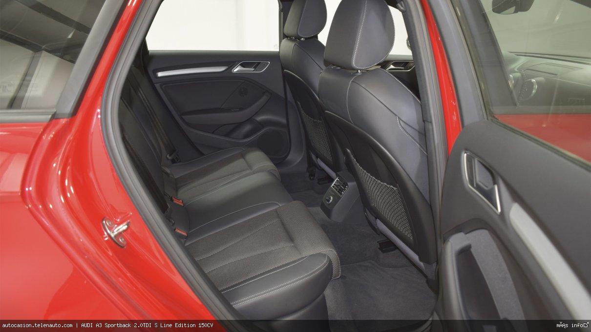 Audi A3 Sportback 35 TDI S Line 150CV Diesel kilometro 0 de ocasión 11