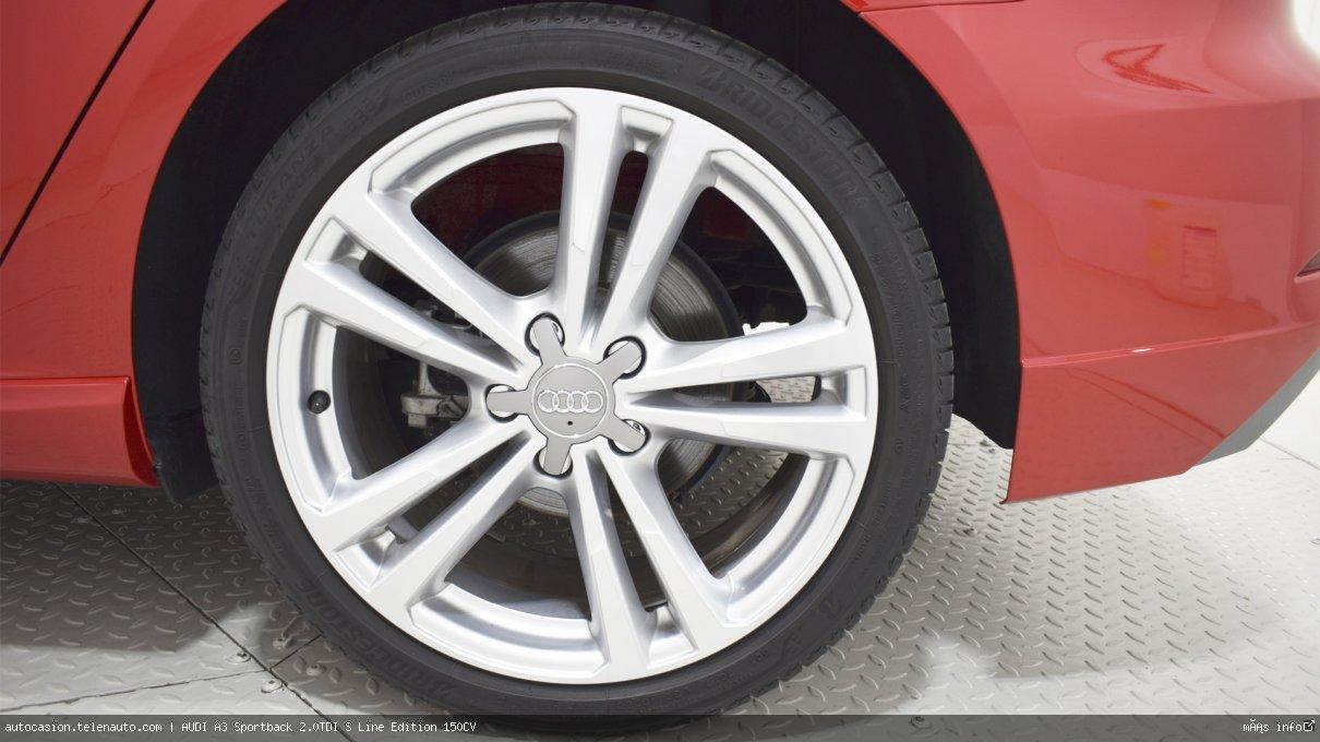 Audi A3 Sportback 35 TDI S Line 150CV Diesel kilometro 0 de ocasión 13
