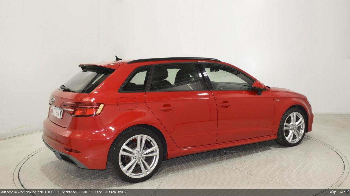 Audi A3 Sportback 35 TDI S Line 150CV Diesel kilometro 0 de ocasión 4