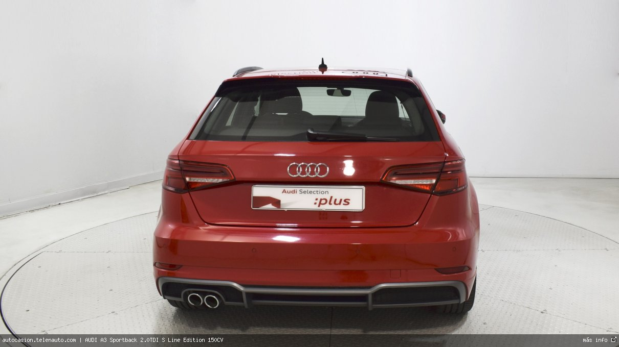 Audi A3 Sportback 35 TDI S Line 150CV Diesel kilometro 0 de ocasión 5