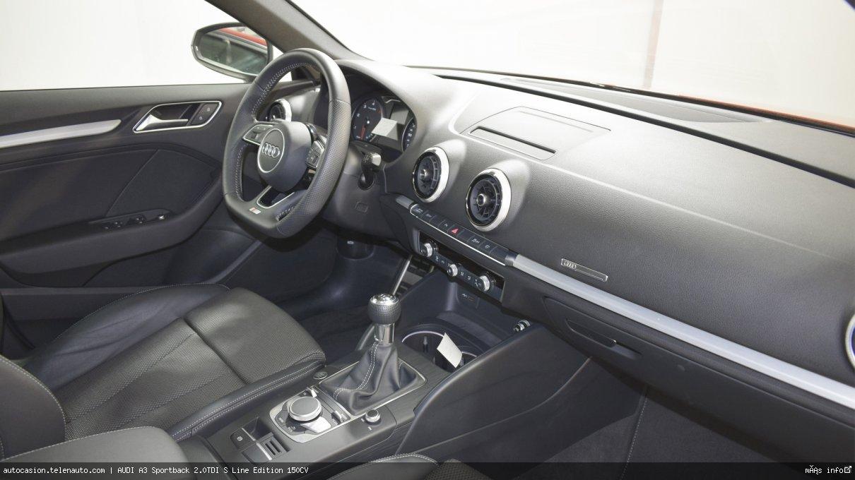 Audi A3 Sportback 35 TDI S Line 150CV Diesel kilometro 0 de ocasión 7