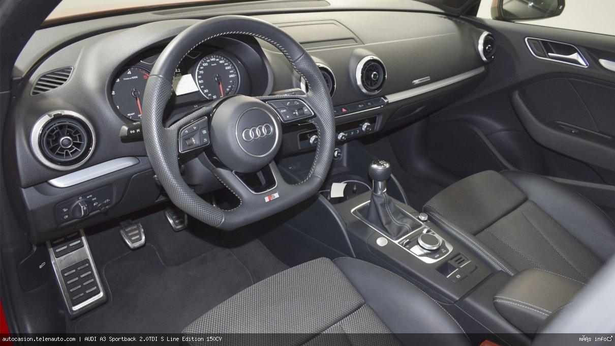 Audi A3 Sportback 35 TDI S Line 150CV Diesel kilometro 0 de ocasión 10