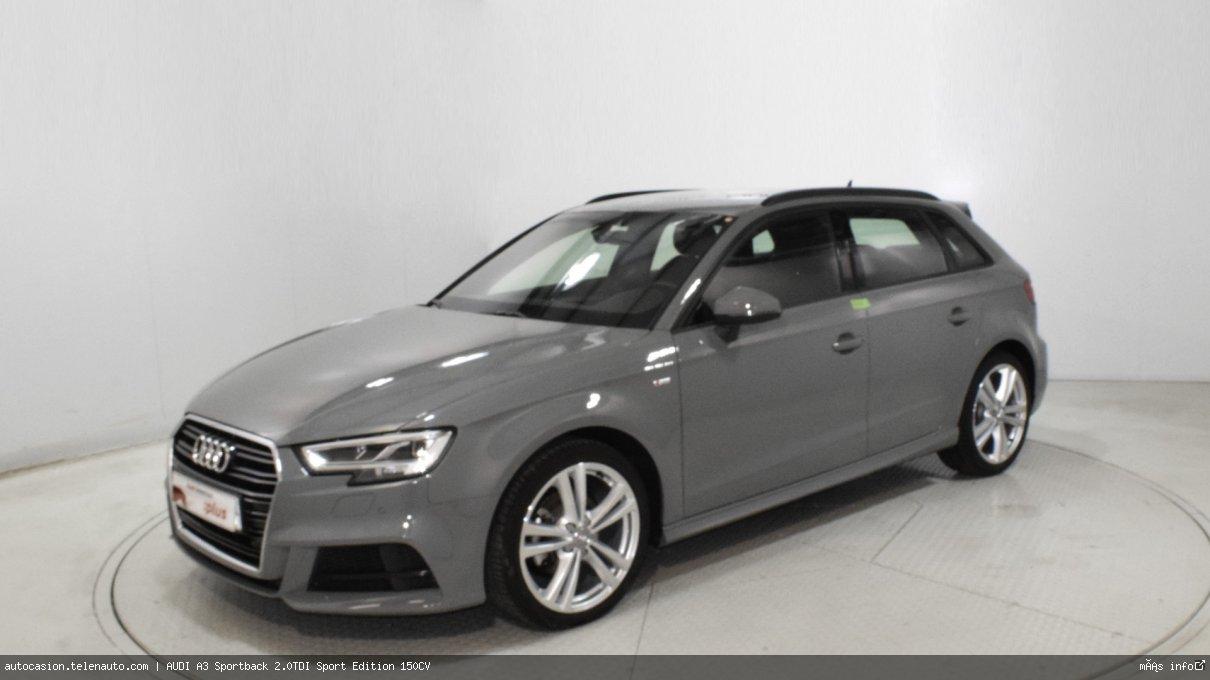 Audi A3 Sportback 2.0TDI Sport Edition 150CV Diesel seminuevo de segunda mano 2