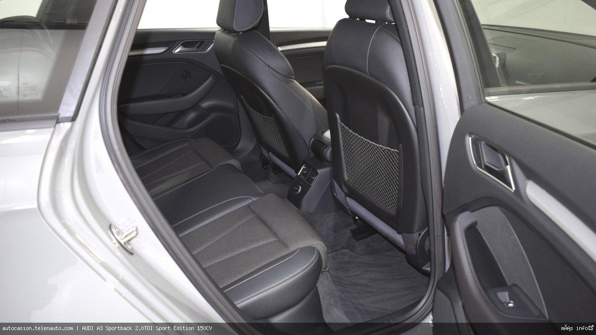 Audi A3 Sportback 2.0TDI Sport Edition 150CV Diesel seminuevo de segunda mano 11