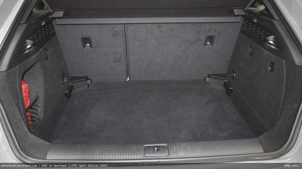 Audi A3 Sportback 2.0TDI Sport Edition 150CV Diesel seminuevo de segunda mano 12