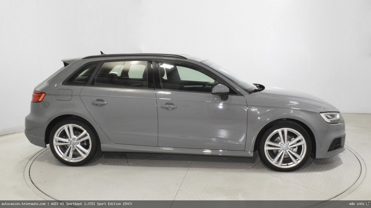 Audi A3 Sportback 2.0TDI Sport Edition 150CV Diesel seminuevo de segunda mano 3