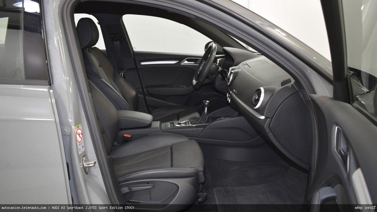 Audi A3 Sportback 2.0TDI Sport Edition 150CV Diesel seminuevo de segunda mano 6