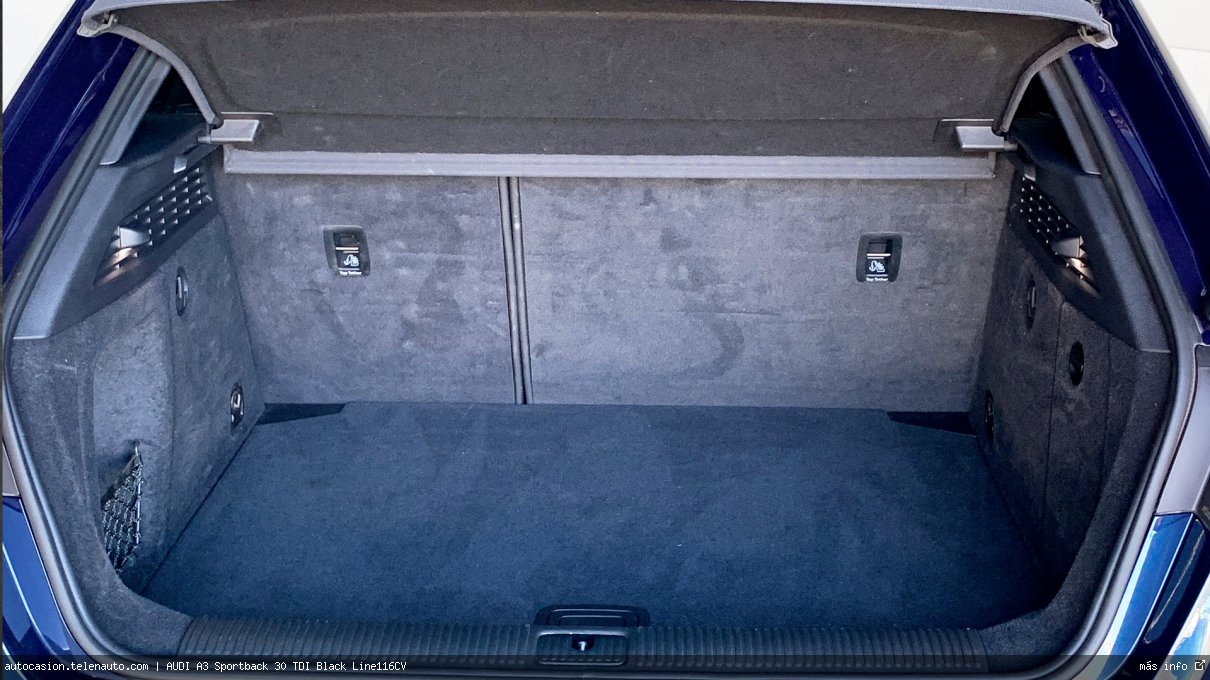 Audi A3 Sportback 30 TDI Black Line116CV Diesel de segunda mano 13