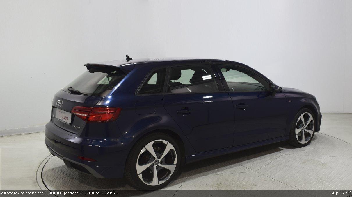 Audi A3 Sportback 30 TDI Black Line116CV Diesel de segunda mano 4
