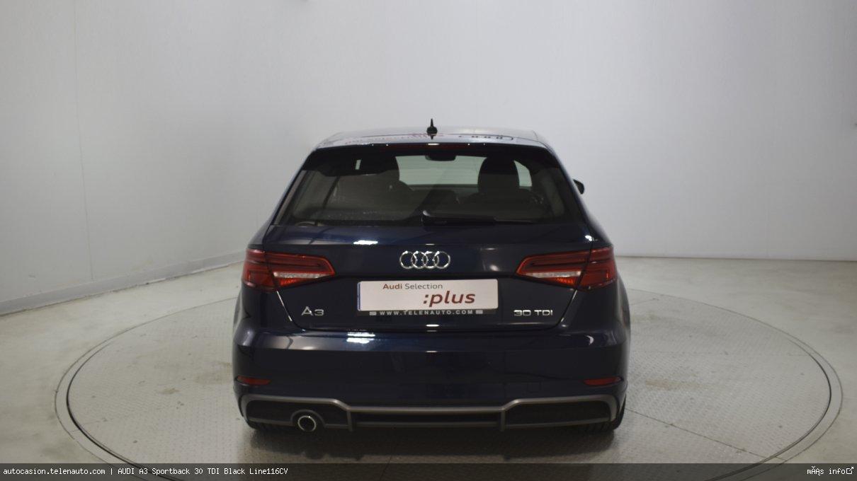 Audi A3 Sportback 30 TDI Black Line116CV Diesel de segunda mano 5