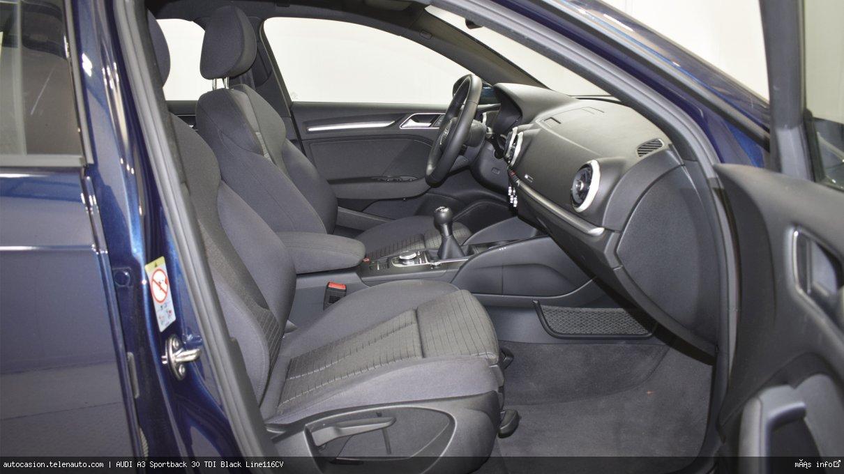 Audi A3 Sportback 30 TDI Black Line116CV Diesel de segunda mano 8