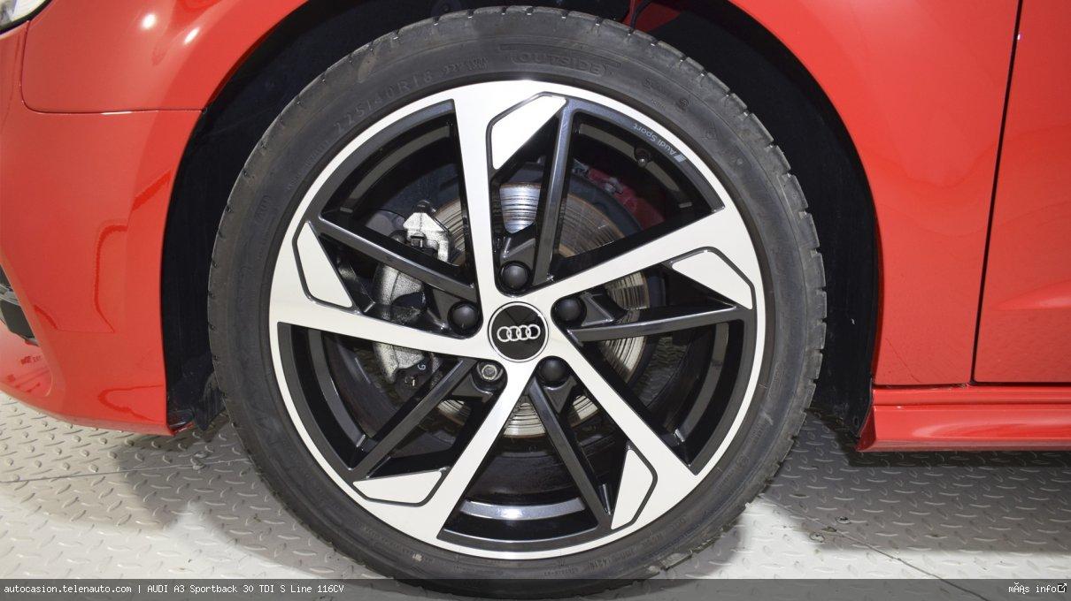 Audi A3 Sportback 30 TDI S Line 116CV Diesel kilometro 0 de segunda mano 15