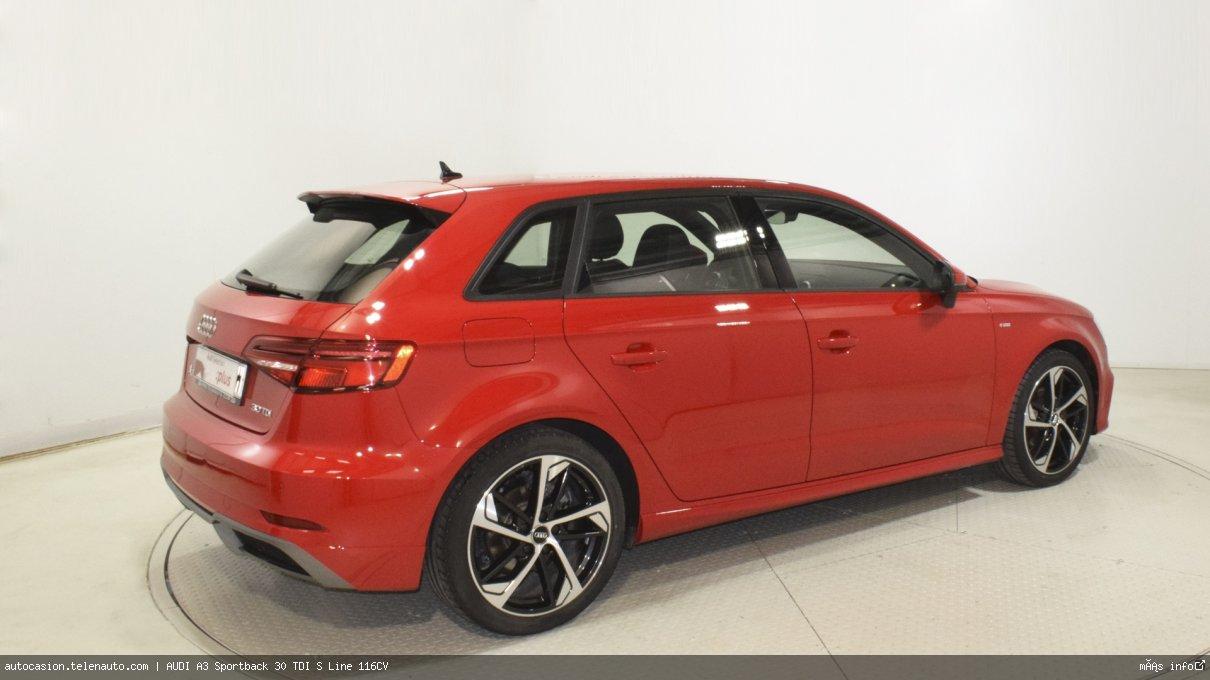 Audi A3 Sportback 30 TDI S Line 116CV Diesel kilometro 0 de segunda mano 5