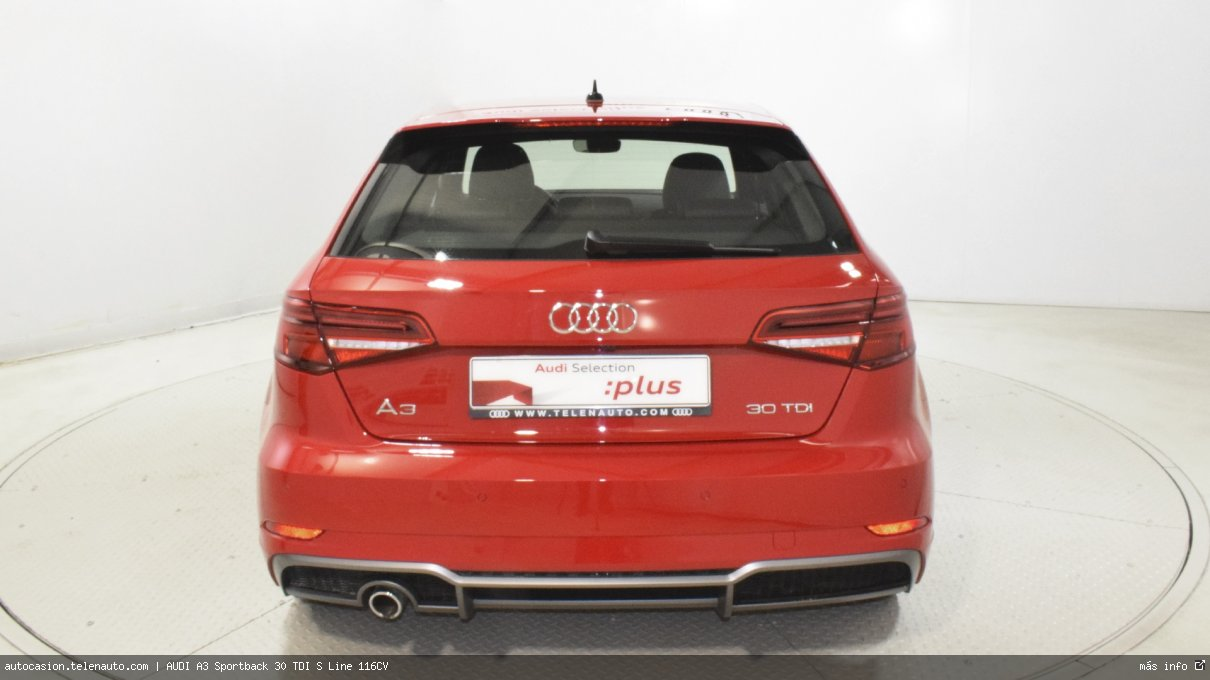 Audi A3 Sportback 30 TDI S Line 116CV Diesel kilometro 0 de segunda mano 6