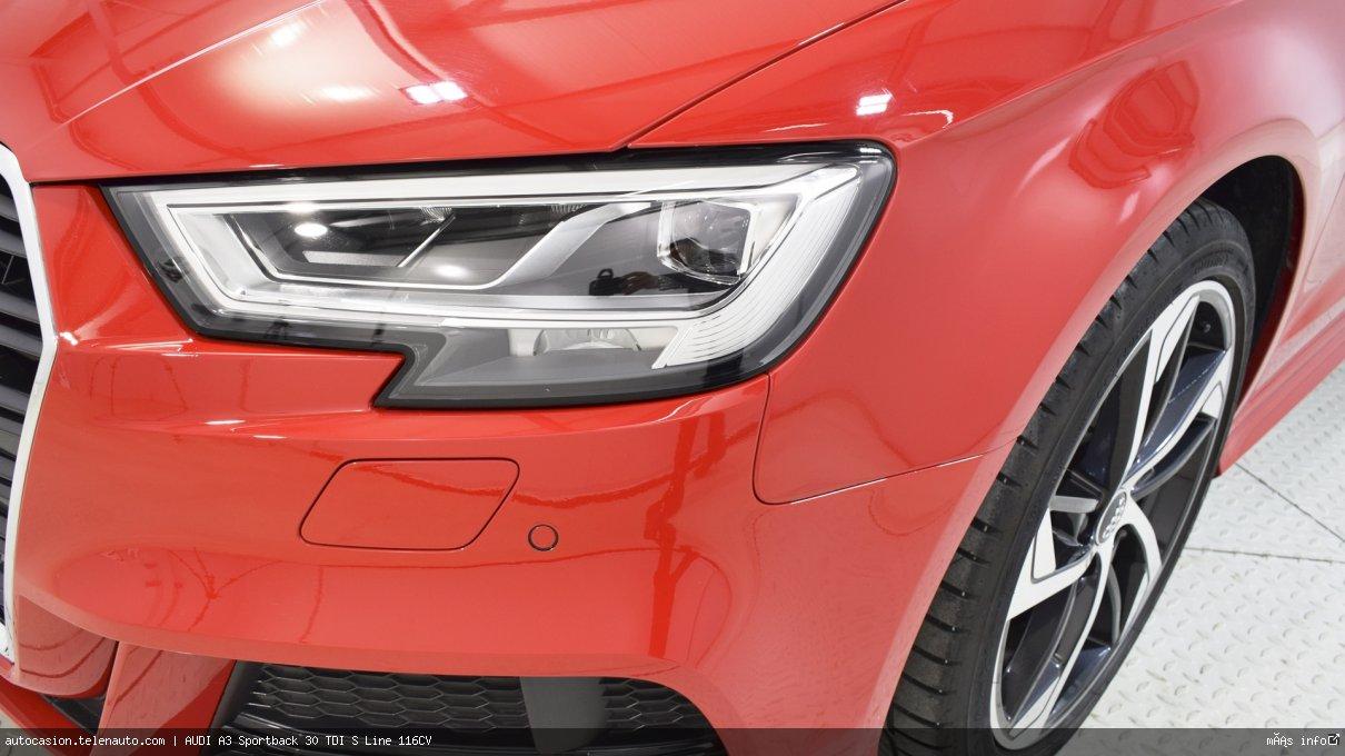 Audi A3 Sportback 30 TDI S Line 116CV Diesel kilometro 0 de segunda mano 7