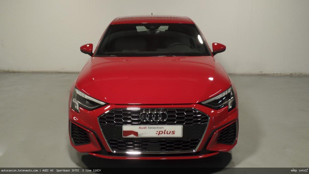 Audi A3  Sportback S line 35 TDI S tronic  150CV (AUTOMÁTICO) Diesel kilometro 0 de segunda mano 2