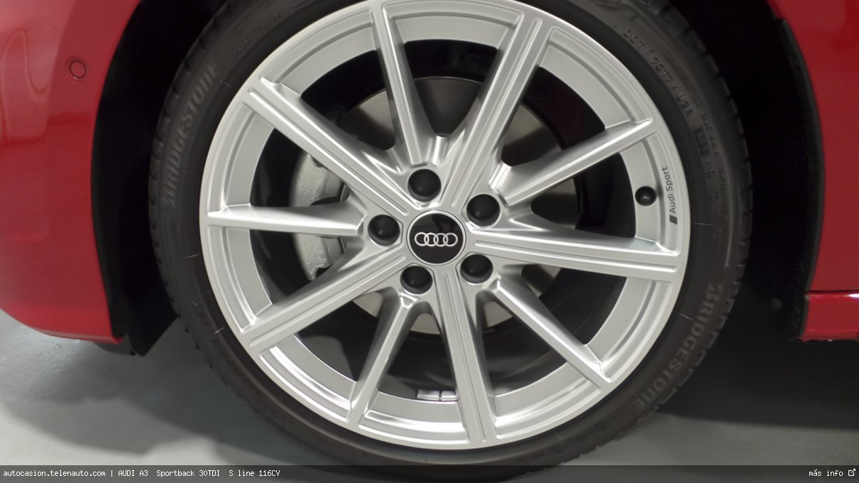 Audi A3  Sportback 30TDI  S line 116CV Diesel kilometro 0 de segunda mano 7
