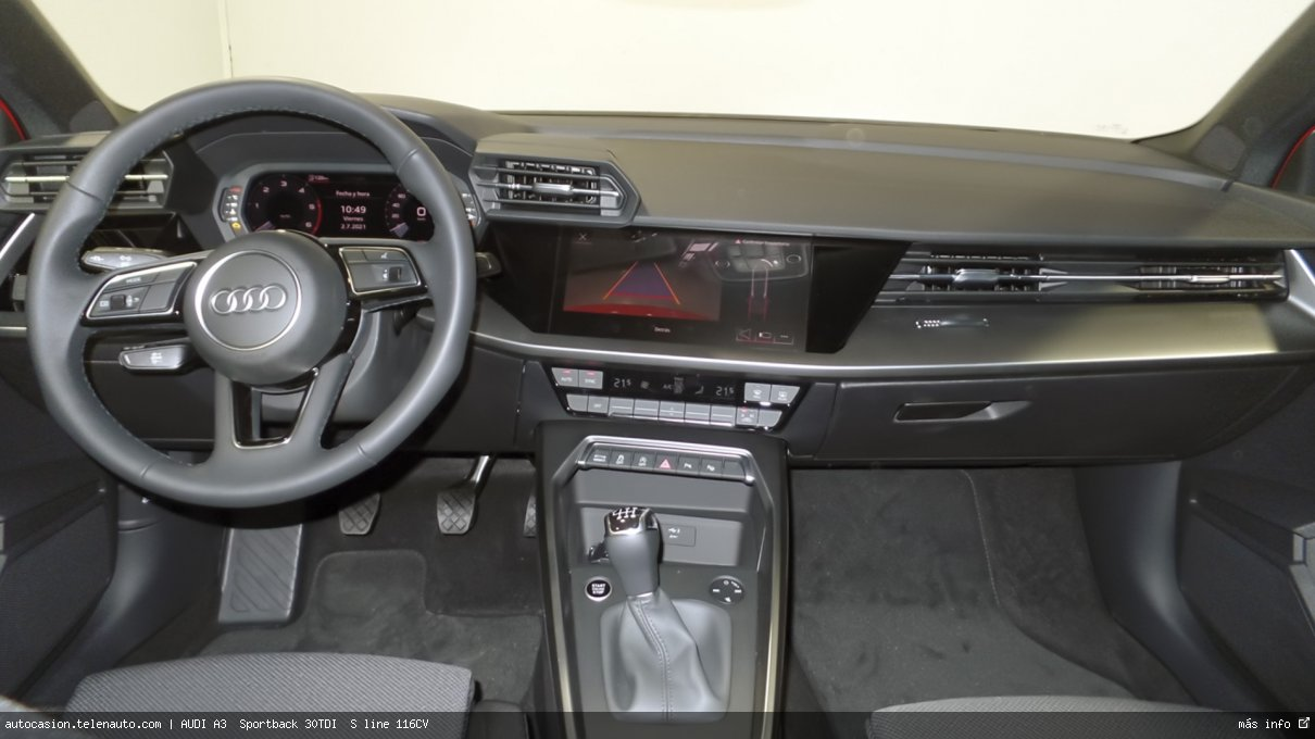 Audi A3  Sportback S line 35 TDI S tronic  150CV (AUTOMÁTICO) Diesel kilometro 0 de segunda mano 8
