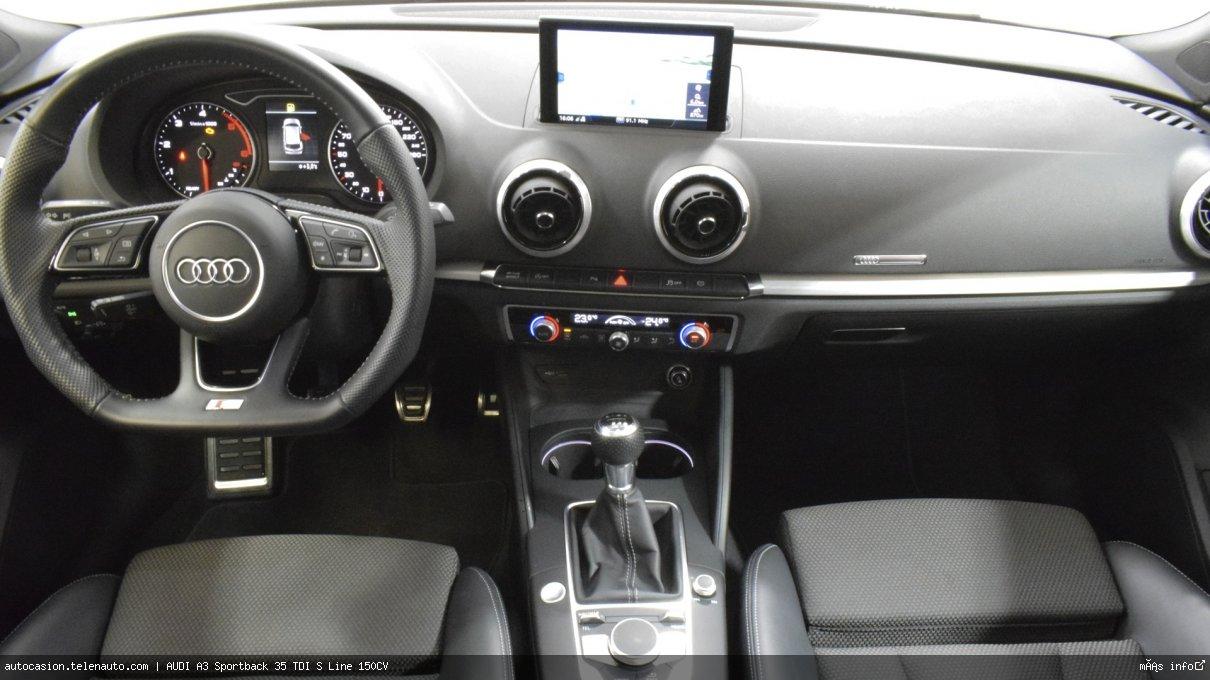 AUDI A3 Sportback 35 TDI S line S-Tronic 150CV (AUTOMÁTICO) - Foto 5