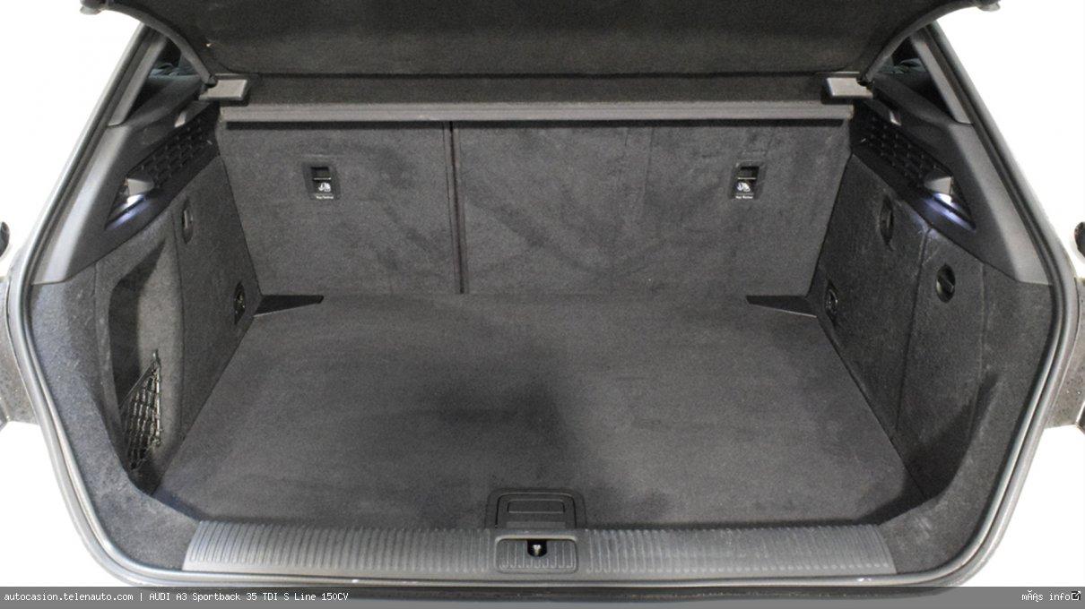 AUDI A3 Sportback 35 TDI S line S-Tronic 150CV (AUTOMÁTICO) - Foto 8