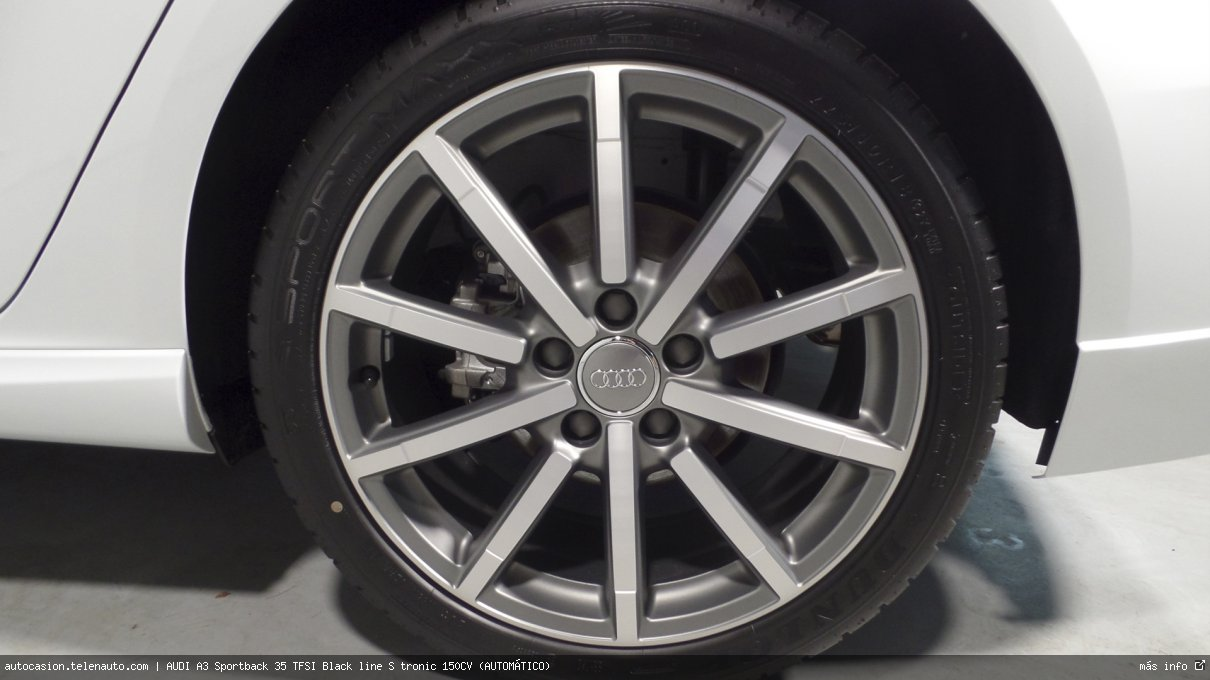 AUDI A3 Sportback 35 TFSI Black line S tronic 150CV (AUTOMÁTICO) - Foto 10