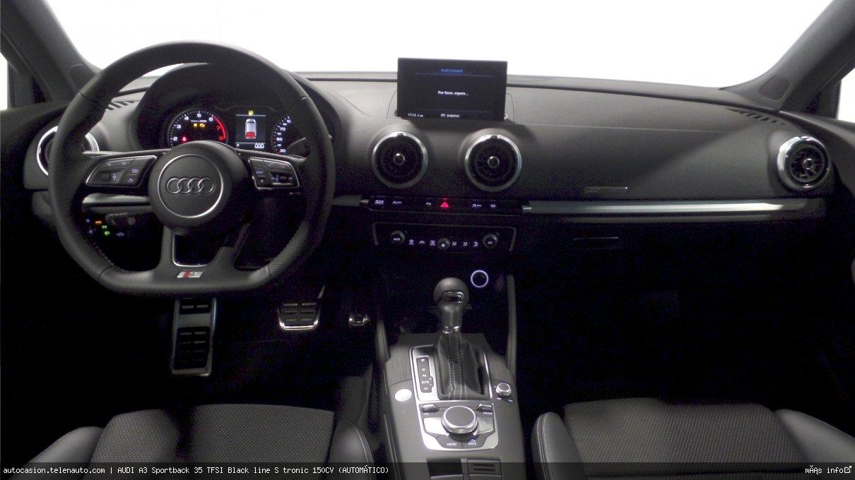 AUDI A3 Sportback 35 TFSI Black line S tronic 150CV (AUTOMÁTICO) - Foto 5