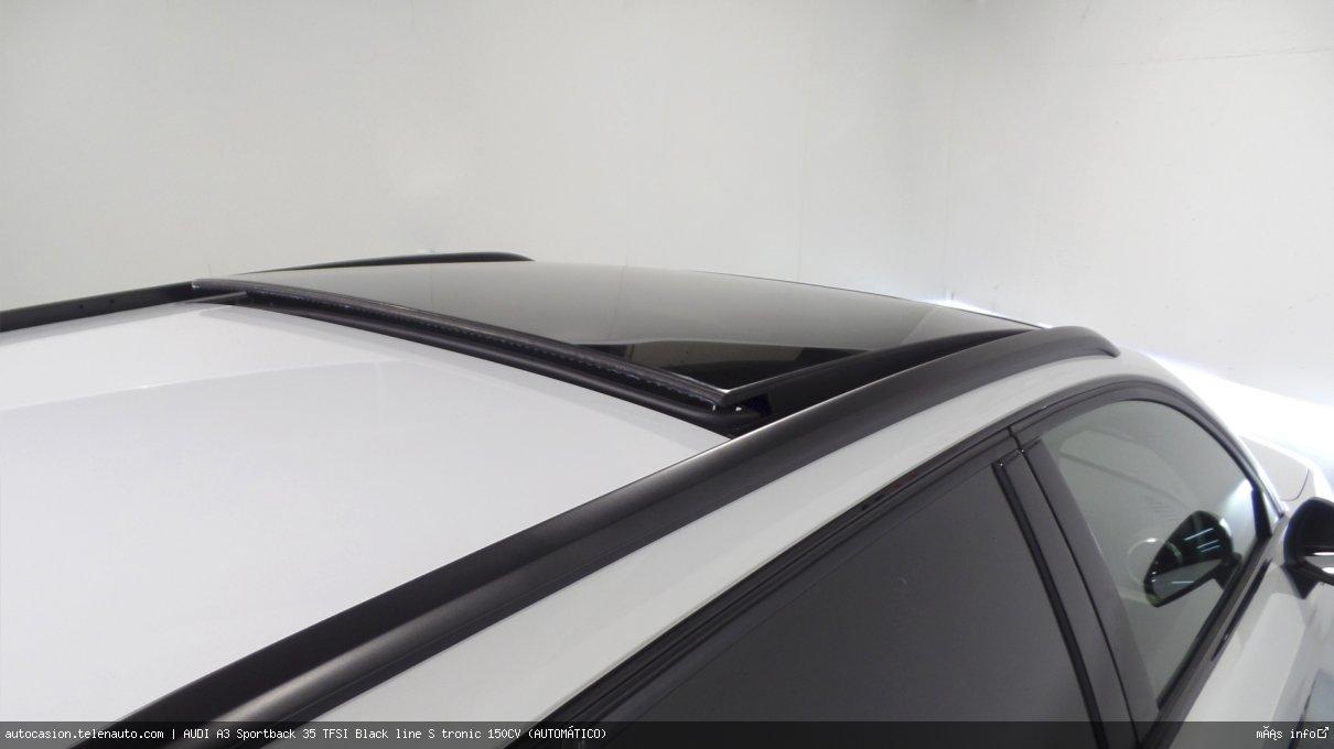 AUDI A3 Sportback 35 TFSI Black line S tronic 150CV (AUTOMÁTICO) - Foto 9