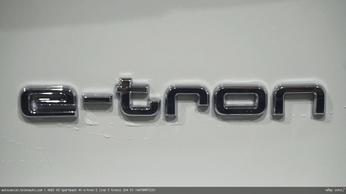 AUDI A3 Sportback 40 e-tron S line S tronic 204 CV (AUTOMÁTICO) - Foto 10