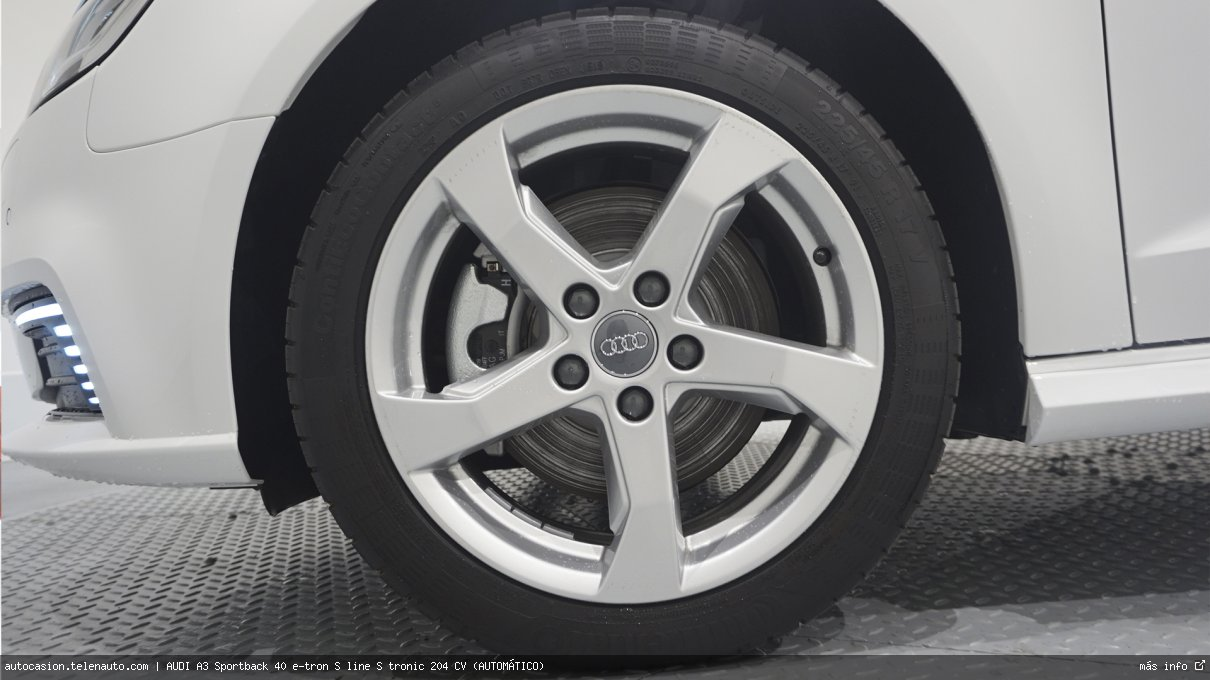 AUDI A3 Sportback 40 e-tron S line S tronic 204 CV (AUTOMÁTICO) - Foto 11