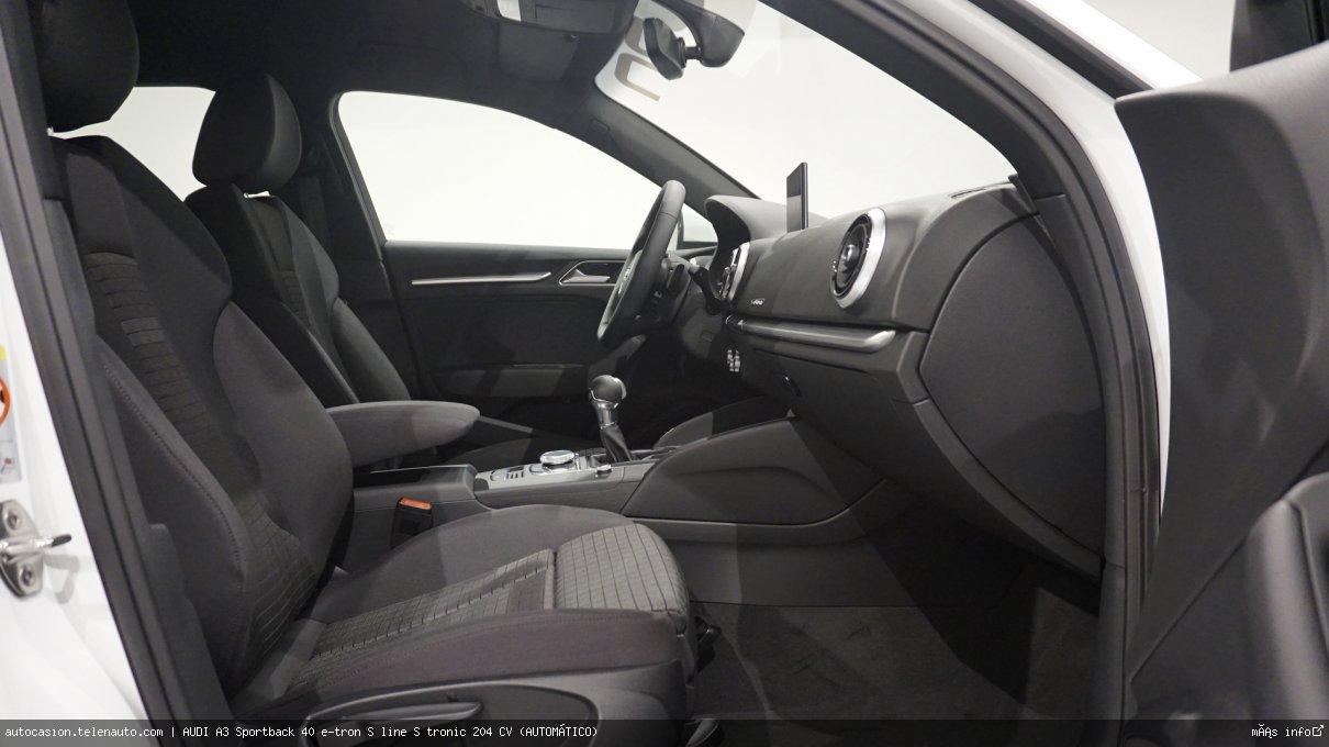 AUDI A3 Sportback 40 e-tron S line S tronic 204 CV (AUTOMÁTICO) - Foto 5
