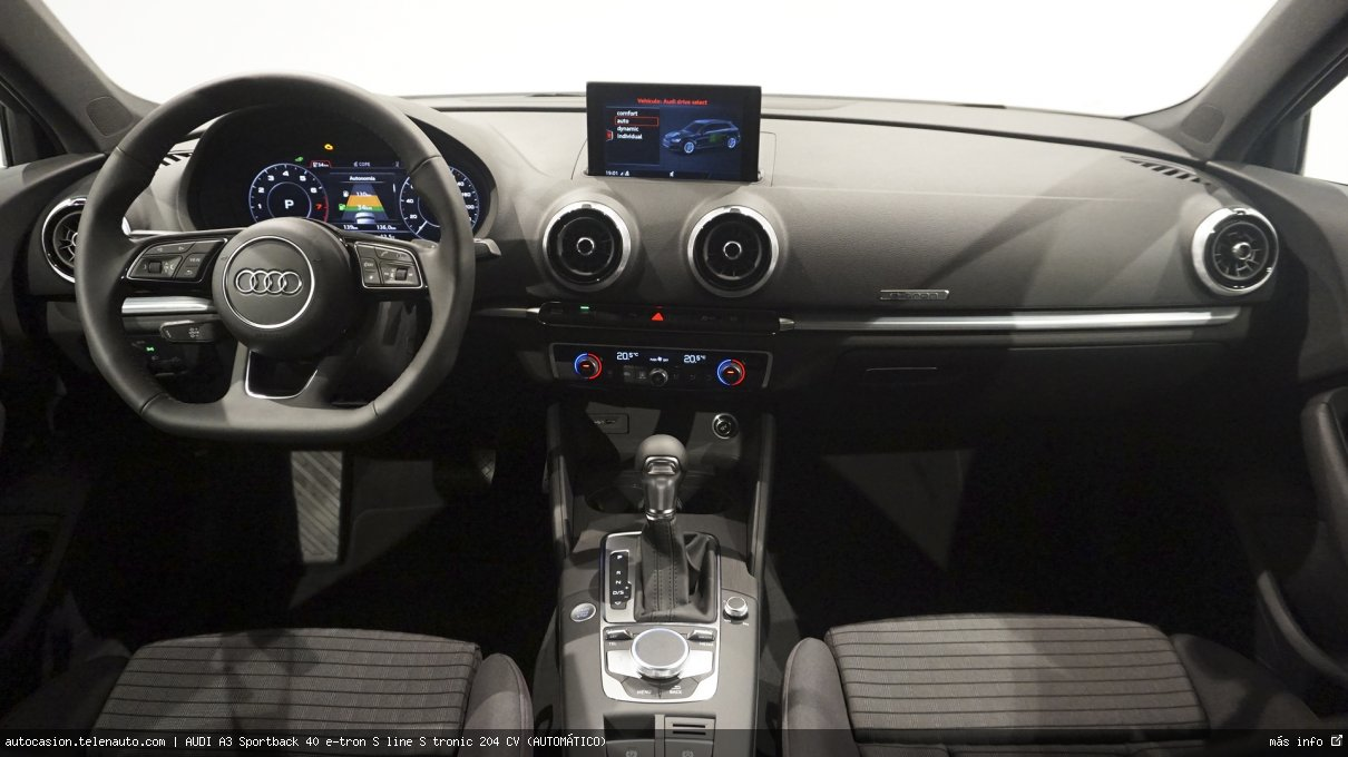 AUDI A3 Sportback 40 e-tron S line S tronic 204 CV (AUTOMÁTICO) - Foto 6
