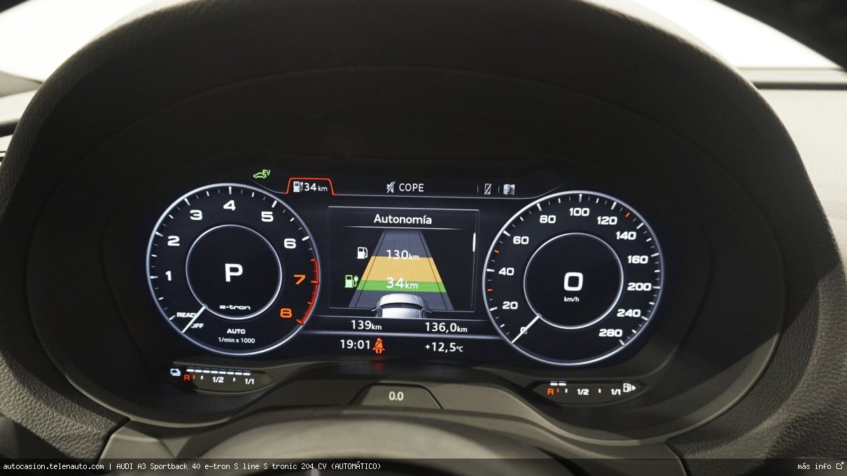 AUDI A3 Sportback 40 e-tron S line S tronic 204 CV (AUTOMÁTICO) - Foto 7
