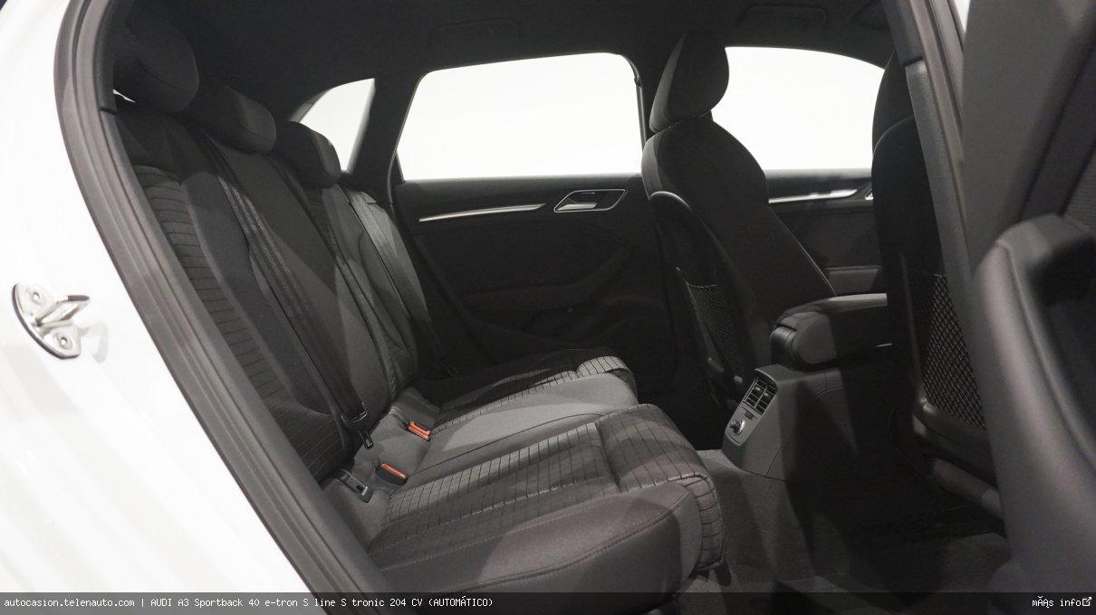 AUDI A3 Sportback 40 e-tron S line S tronic 204 CV (AUTOMÁTICO) - Foto 8