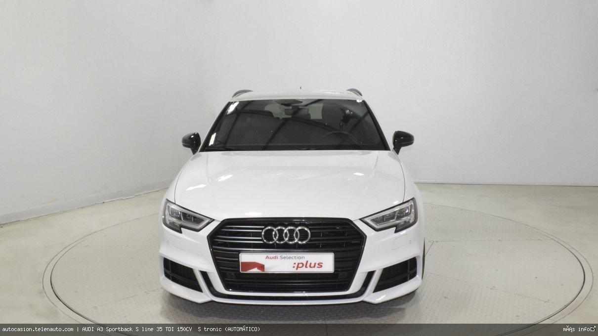 Audi A3 Sportback S line 35 TDI 150CV  S tronic (AUTOMÁTICO)  Diesel kilometro 0 de ocasión 2