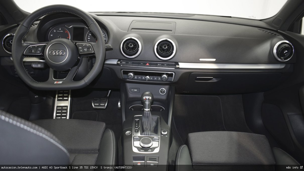 Audi A3 Sportback S line 35 TDI 150CV  S tronic (AUTOMÁTICO)  Diesel kilometro 0 de ocasión 11