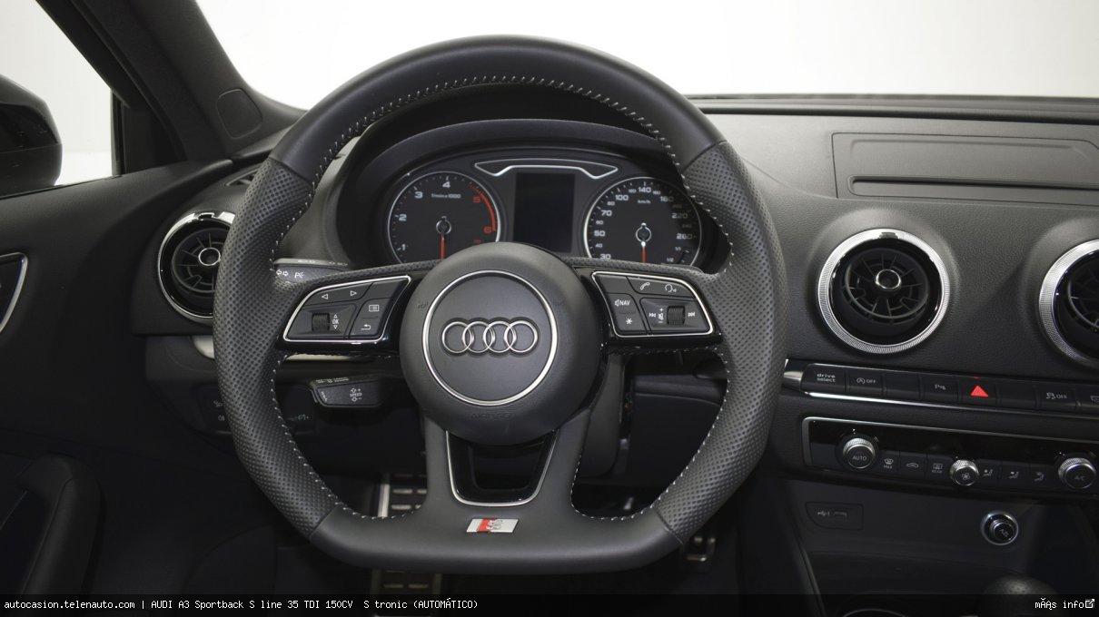 Audi A3 Sportback S line 35 TDI 150CV  S tronic (AUTOMÁTICO)  Diesel kilometro 0 de ocasión 12